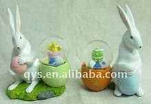 Easter rabbit decoration