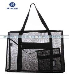handle leno mesh bag
