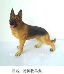 Polyresin German Shepherd
