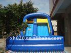 2012 Hot Saler endless fun indoor or outdoor commercial grade vinyl tarpaulin Inflatable water slide SL011