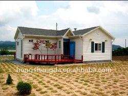 Modular Summer House/steel structure house/economic modular house