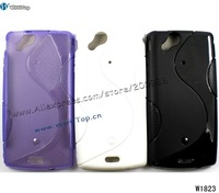 Gel Soft Case TPU Silicon Cover S Line Curve for Sony Ericsson Xperia Arc LT15i x12