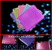 Dazzling and coloful diamond design TPU case for ipad 2