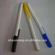 fashion simple plastic pen custom logo cheap thin gift ball pen