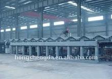 Low cost prefab steel warehouse