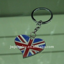 UK Flag Metal Keychain For2012 London Olympic Games Souvenir Gift