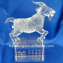 Crystal animal, crystal zodiac sheep