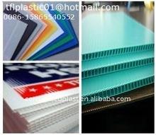PP Plastic Twin Wall Flute Board
