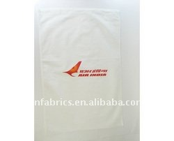 nonwoven headrest pillow cover for airplane