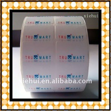self adhesive label
