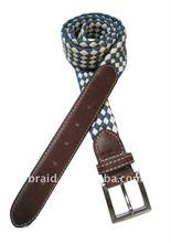 braided fashion cloth cotton belt