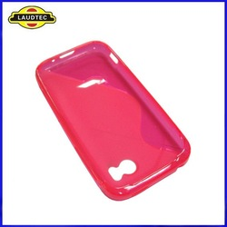 S Type Design Wave TPU Case Cover for HTC Vigor