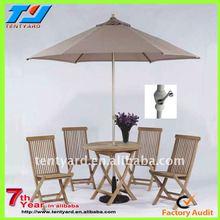 outdoor restaurant umbrella with LED decorative