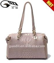 2012 HOT SALES crocodile Lady genuine leather handbags in Fashion styles