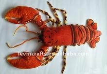 plush animal stuffed plush big lobster toys