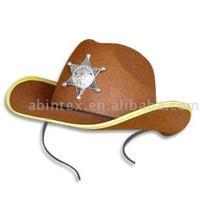 Sheriff Costume Hat (MX-117-A)