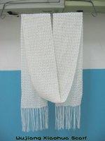 new fashion acrylic crochet scarf wholesale shawl RH-11
