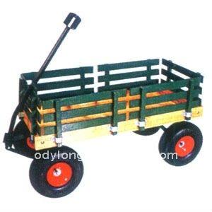 Ferramentas de madeira carrinho para jardineiro