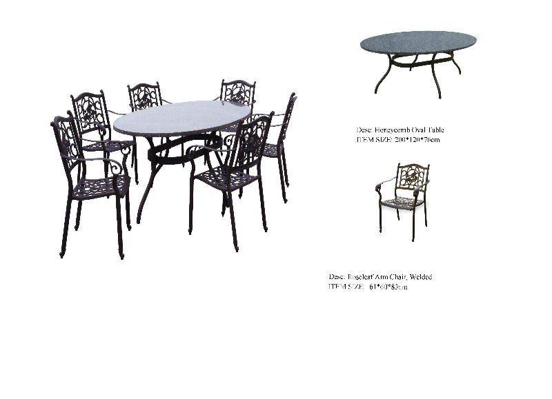 Muebles de exterior de aluminio fundido herramientas de for Aluminio productos de fundicion muebles de jardin