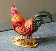 resin rooster