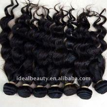 100% human hair curly mongolian hair natural remy virgin