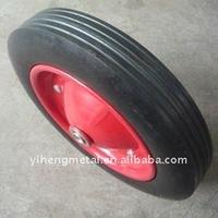"""popular heavy duty solid rubber wheels 13""""x3"""""""