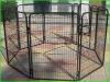 8 sided panels dog cage enclosure