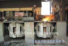 Crucible melting furnace for non-ferrous metal