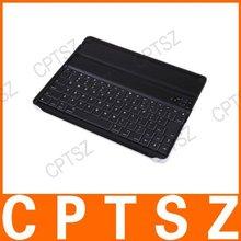 Wireless Bluetooth Keyboard Aluminum Case For iPad 2 Black
