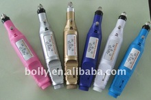 Electric mini art machine/Pen shape electric nail drill /Manicure set(110v,220v)