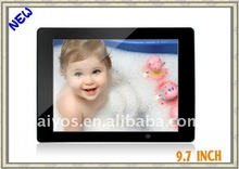9.7 inch digital picture frame (excellent advertising player)