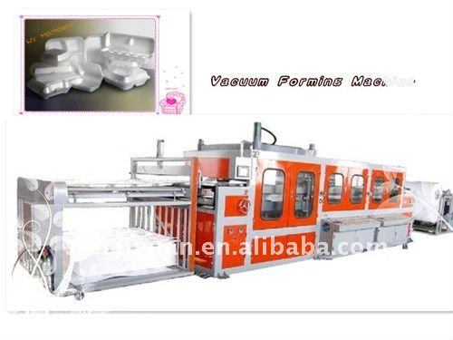 PS Foam Disposable Tray/Bowl/Box/Plate Vacuum Forming Machine