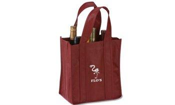 Six Bottle Wine Tote Bag