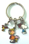 Snoopy dog metal key chains for promotional gifts