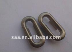 sew on oval shape garment metal brass eyelet