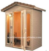 ETL outdoor sauna room
