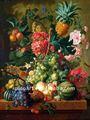 Handmade da lona pintura a óleo de fruta