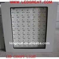 120w led canopy lighting replacing 400w metal halide
