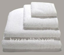 soft and highly water absortion cotton towel for star hotel
