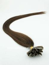 "Brown 16"" pre-bonded U-Tip hair extention"