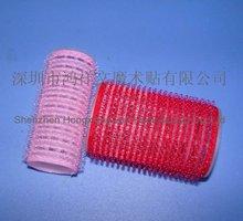 Bow shape Velcro hair roller/ Velcr hair clip