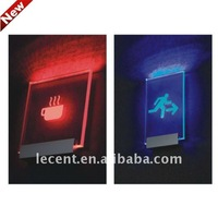 LED Glowing Sign Support Holder Fixing