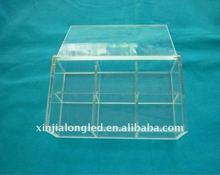 clear acrylic storage box acrylic box with lid