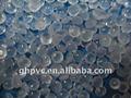 granule transparent de PVC pour des santals