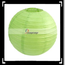 Newest!!12 Inches Paper Lantern Fruit Green