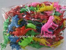 Promotional miniature toy plastic figurines