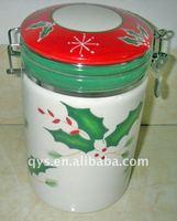 antique ceramic stock jar