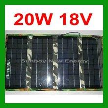 12V Charger 20W Folding Solar Panel