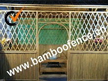 natural bamboo door for home decoration