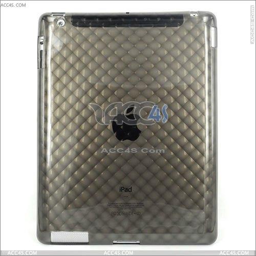 Wholesale Price Diamond Disign TPU case for iPad 2 P-iPAD2TPU016